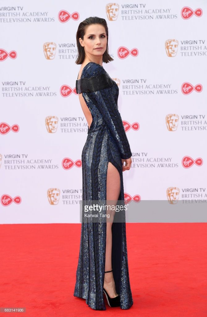 Charlotte Riley attends the Virgin TV BAFTA Television Awards at The Royal Festival Hall on May 14, 2017 in London, England.