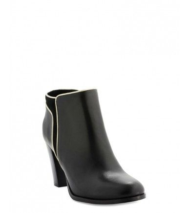 Low boots et bottines en CUIR VEAU H Noir - Low-boots Vimia - Cosmoparis