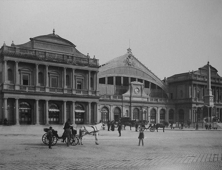 Roma, Stazione Termini - 1890