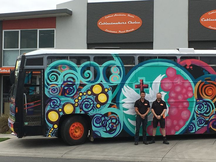Cabinetmakers Choice proud to supply materials to Christian College Geelong for the fit out of Boris the Bus.