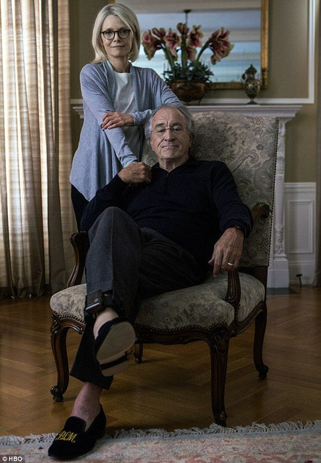 FIRST PICTURE: Robert DeNiro and Michelle Pfeiffer as Bernie and Ruth Madoff in HBO's hotly anticipated Wizard of Lies