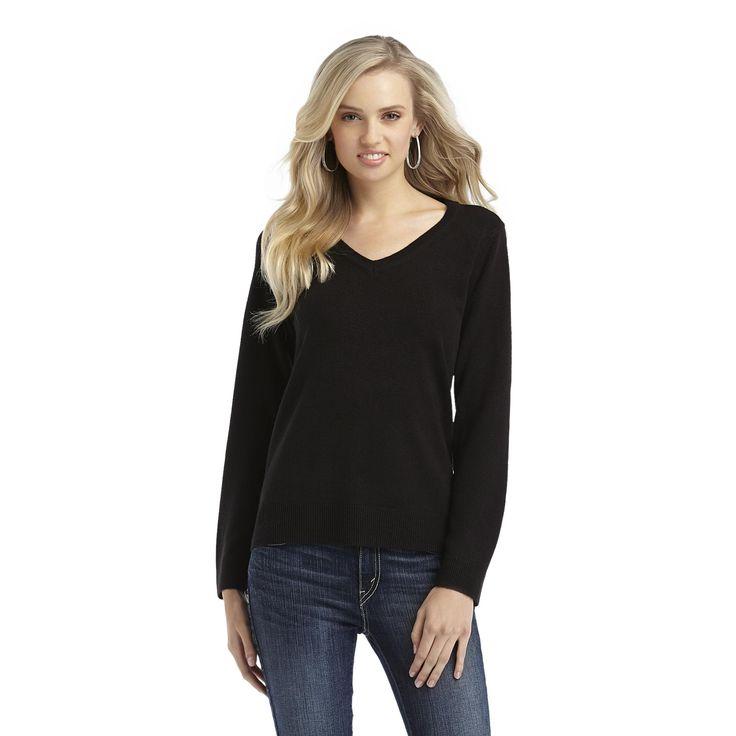 long-v-neck-sweater