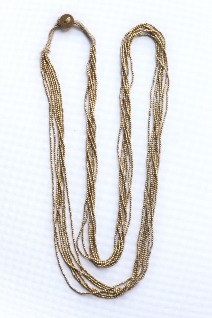 Bronze collar. Orissa style, India.