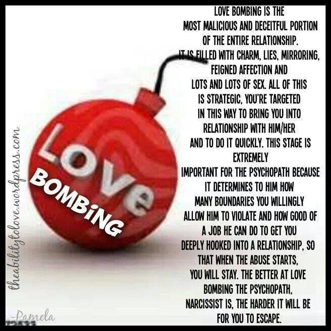 Image result for love bombings psychopath
