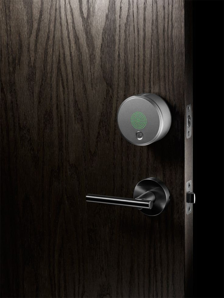 Another BLuetooth operated deadbolt lock for the house. Allow keyless entry and log who comes in or out. By August.com