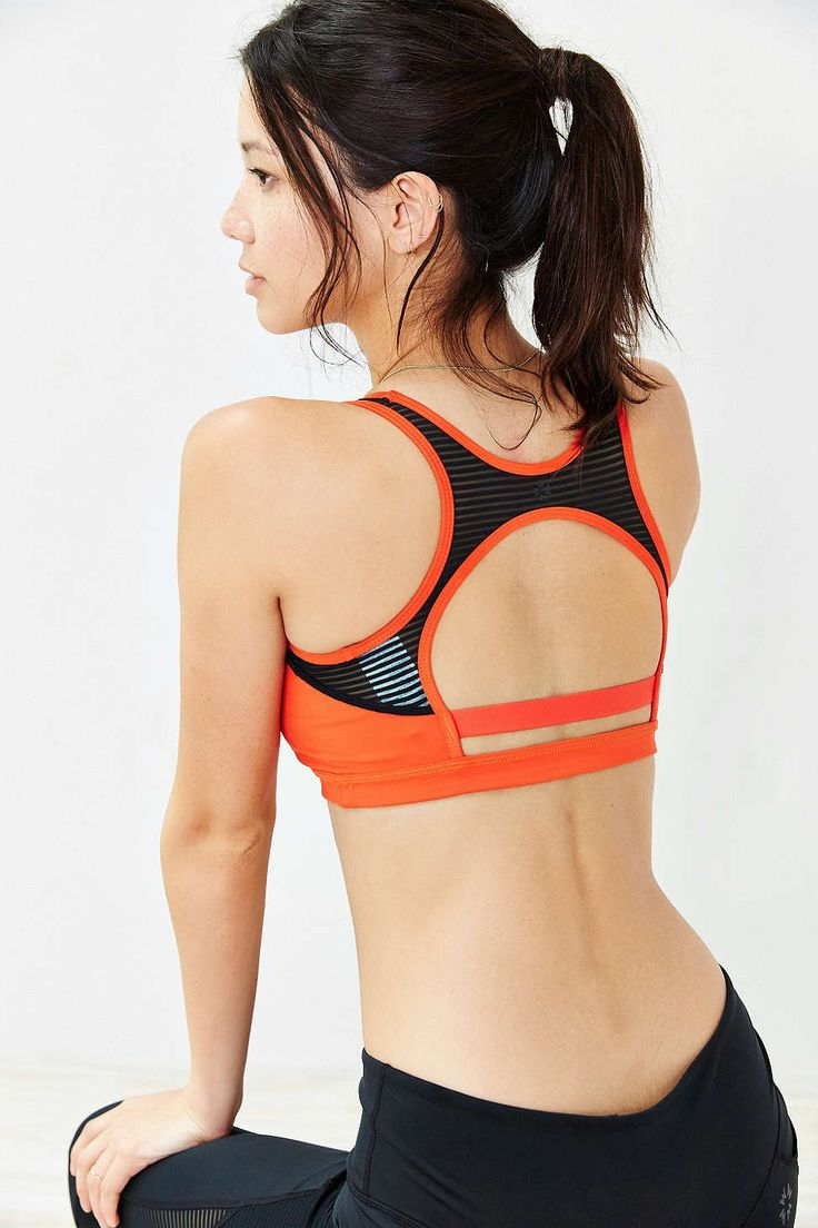 Without Walls Open Back Mesh Bra