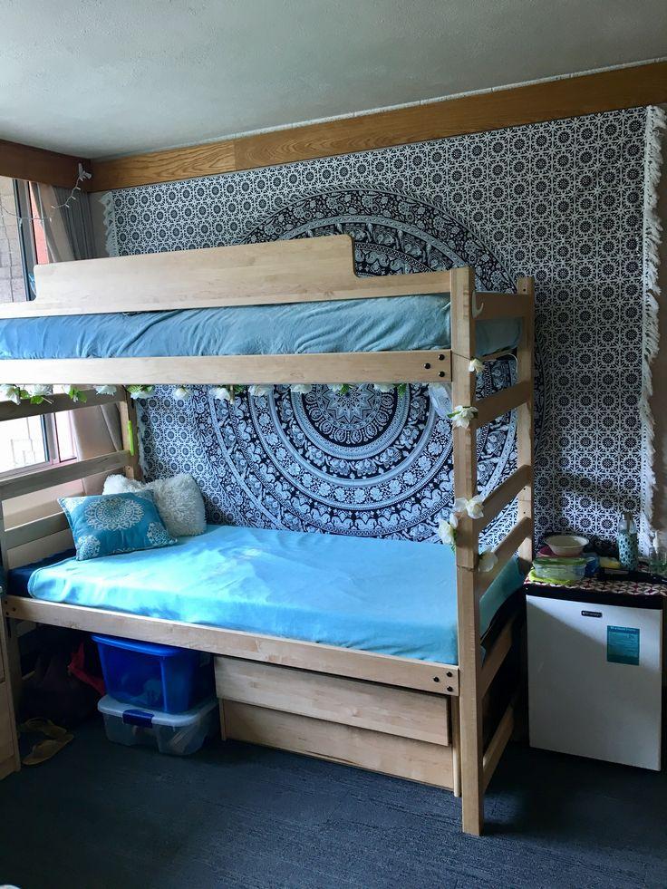 best 25 triple dorm ideas on pinterest 3 bunk beds triple bunk beds and bunk bed sets. Black Bedroom Furniture Sets. Home Design Ideas