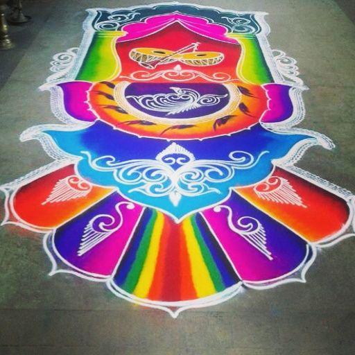 Professionals #Drawing #Rangoli on the every occasion #rka #rashtrikalaakadami #rangoliartpune