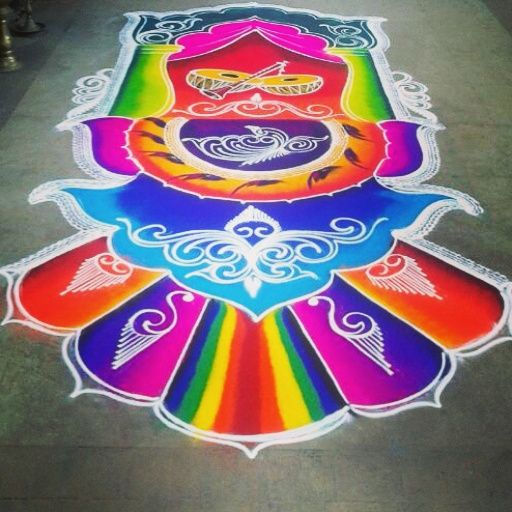 Professionals #Drawing #Rangoli on the every occasion #rka #rashtrikalaakadami #rangoliartpune