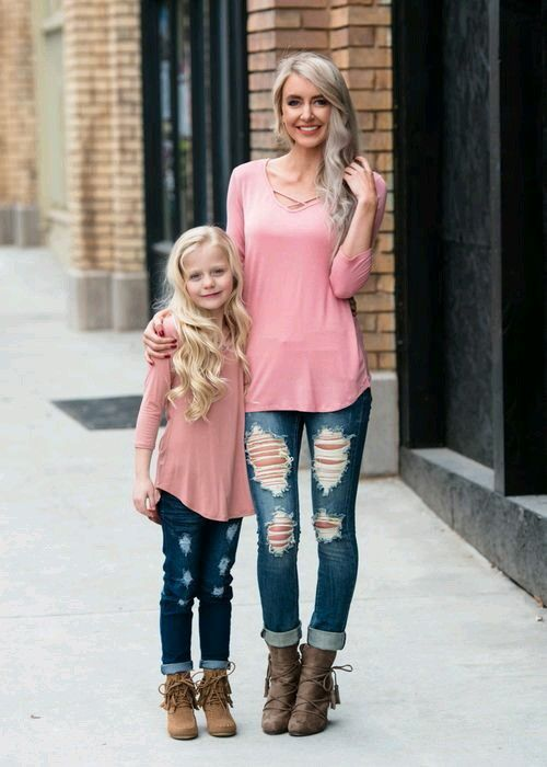 1cdd814453e Pin by jibbyjade.myshopify.com on Mother and Daughter Matching outfit | Mother  daughter matching outfits, Mother daughter outfits, Mom outfits