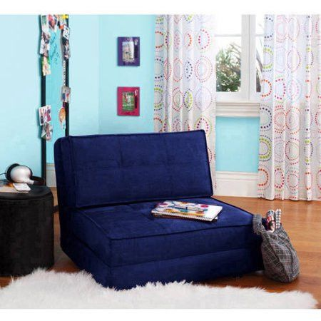 Kids,Teens, Convertible Flip Small Space Lounge Chair Bed
