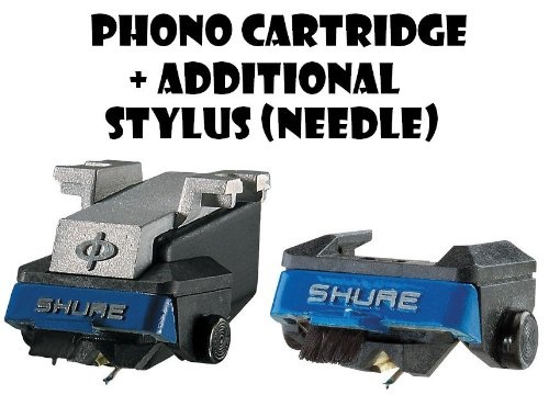 Shure M97xE High-Performance Magnetic Phono Cartridge Plus Additional N97XE Replacement Stylus $129.75 guhhhh epic want