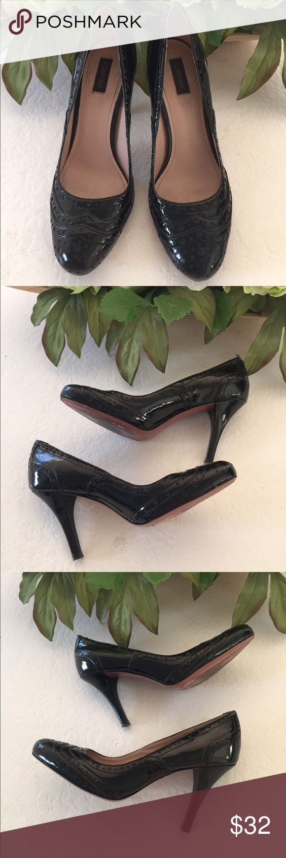 Joan & David patent leather heels Mary Jane meets patent leather in these darling shoes Joan & David Shoes