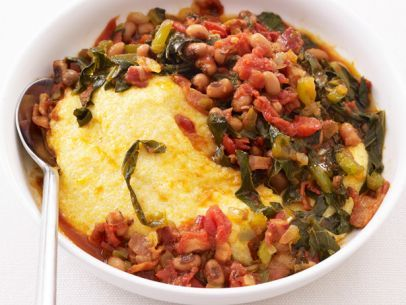 Grits with Bacon and Beans Recipe : Food Network Kitchen : Food Network