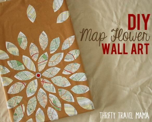 Canvas Wall Art Diy 84 best diy map art images on pinterest | home decor wall art, map