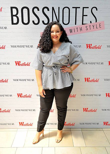 Blogger Tanesha Awasthi attends the Westfield x Who What Wear Presents: Boss Notes at Westfield Valley Fair event at Westfield Topanga on April 30, 2016 in Woodland Hills, California.