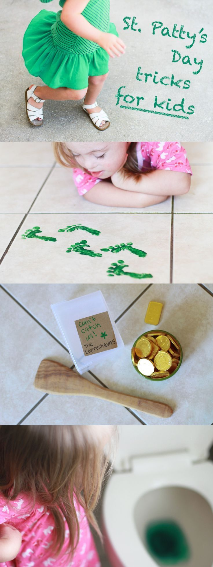How to Catch a Leprechaun and Other St. Patricks Day Tricks for Kids
