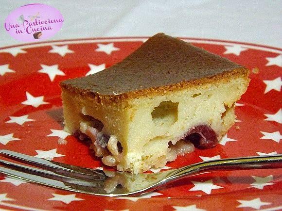 Torta+alle+Ciliegie+Morbida+senza+Lievito