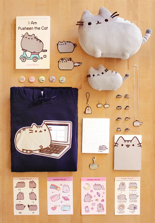 ★ BOOK RELEASE GIVEAWAY ★  Today is release day for Pusheen's first book, I am Pusheen the Cat! You can buy a copy here! The book feat...
