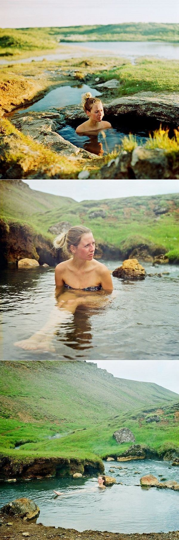Romantic Icelandic spot: Landbrotalaug hot pot