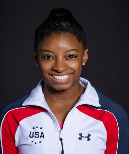 Simone Biles - one of my favorite gymnasts!