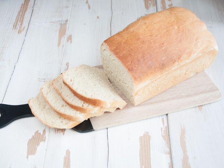 Vegan White Sandwich Bread via @elephantasticv