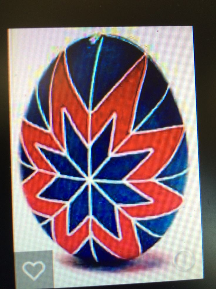 Ukrainian egg design. Inspiration feb 2