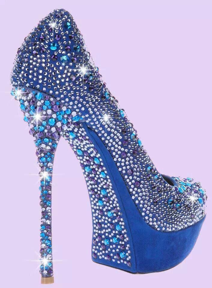 Blue Shoes - something blue!!