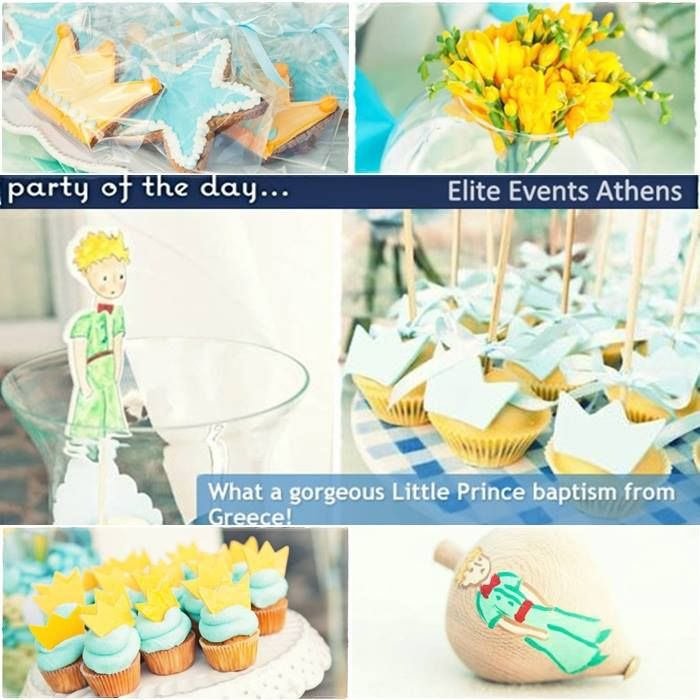 Thank you Catch My Party for featuring Elite Events Athens 'Little Prince Baptism' as 'party of the day - What a gorgeous Little Prince baptism from Greece ''  eliteeventsathens event planning the little prince baptism christening catch my party party ot heday athens greece  https://www.facebook.com/media/set/?set=a.678219342189444.1073741837.129196990425018&type=3
