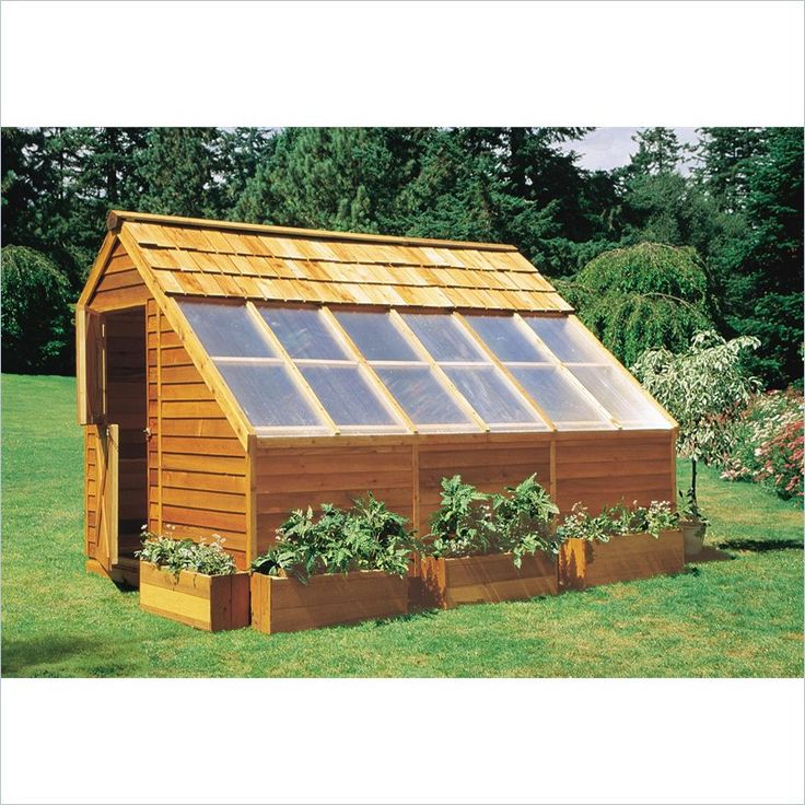 greenhouse/garden shed