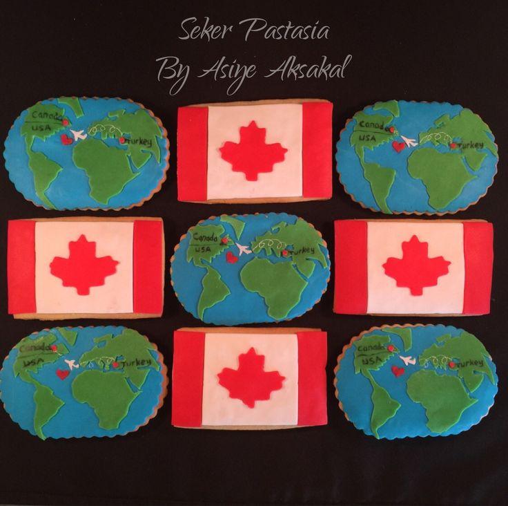 Çağla Kanada Veda Partisi Kurabiye