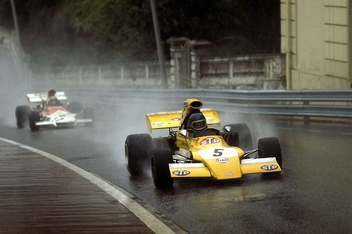 Mike Beuttler (March-Ford) Grand Prix de Monaco 1972