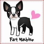 Fart Machine (boston terrier) Dog Clothing | Zazzle
