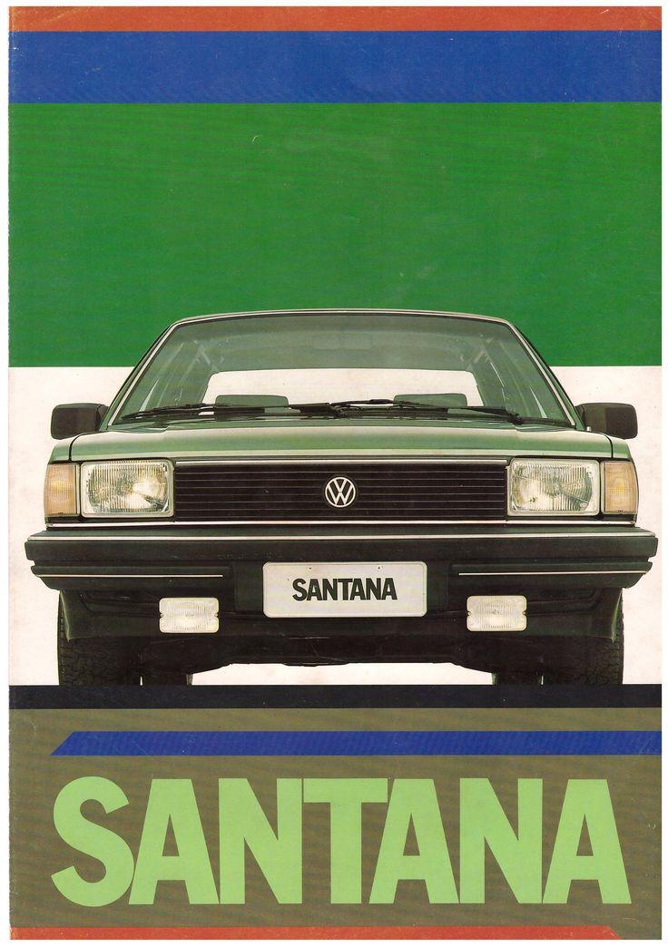 catálogo volkswagen santana 1.984.1