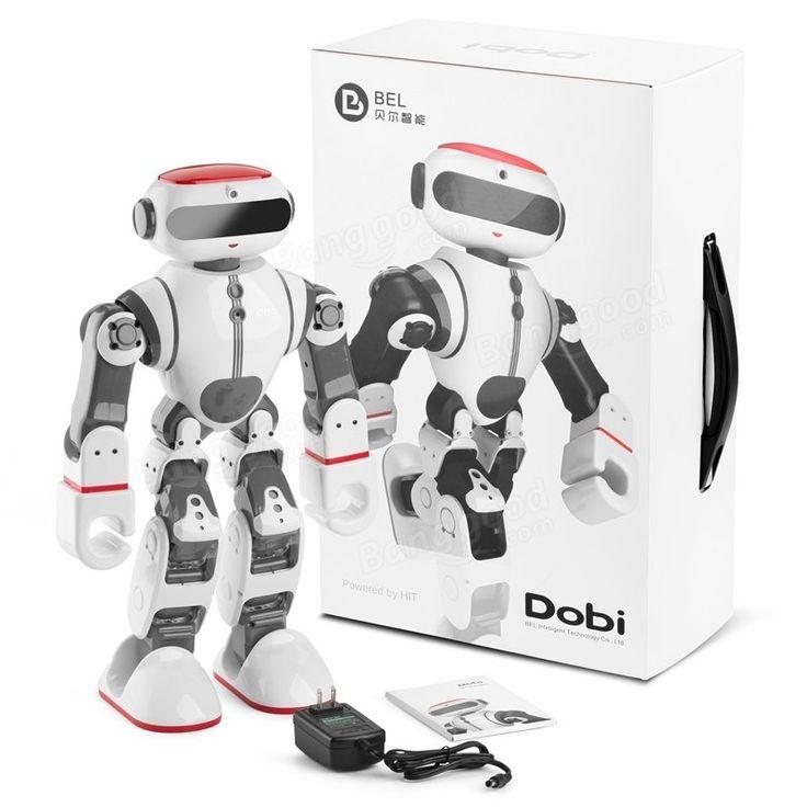 Wltoys F8 Dobi Intelligent Humanoid Voice Control Multifunction RC Robot Sale - Banggood.com
