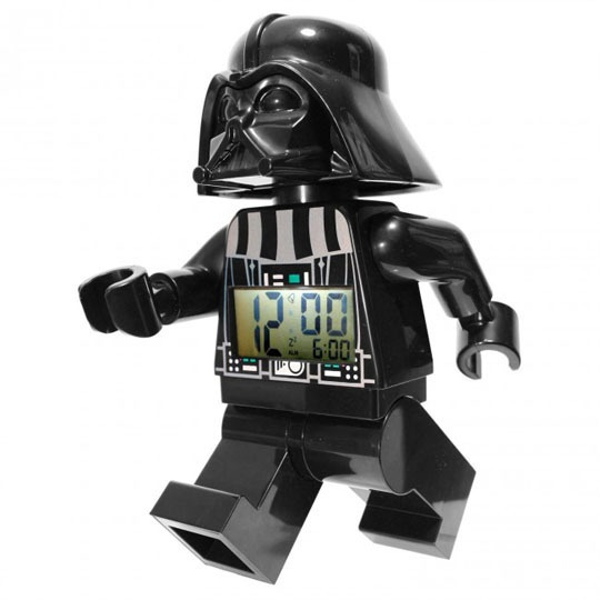Lego Man alarm clock.  I know three little boys that would think this was the coolest.