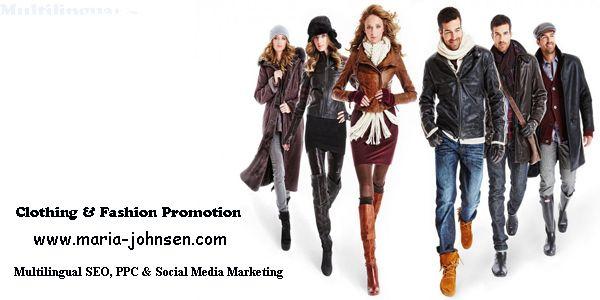 Fashion and clothing promotion