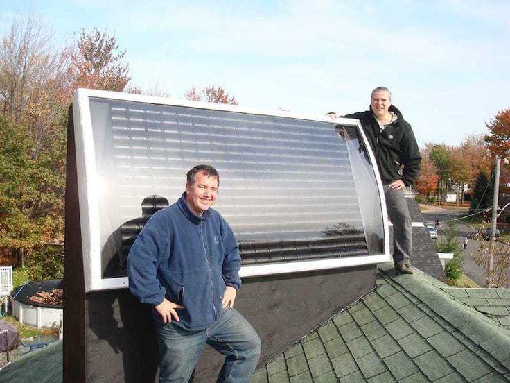 Como hacer una calefacción solar casera con latas de refrescos
