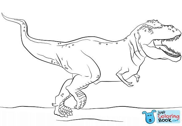 Jurassic Park T Rex Coloring Page Free Printable Coloring Pages Within Tyrannosaurus And Triceratops Coloring Pages