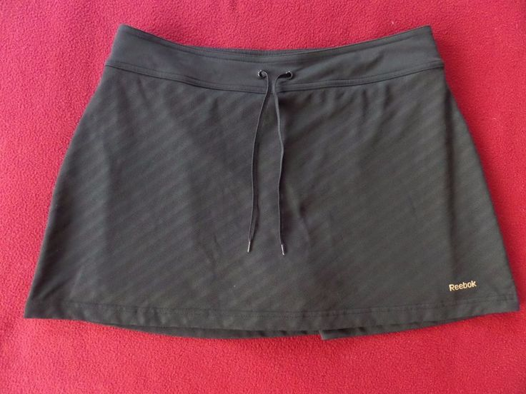 reebok tennis skirt with bike short