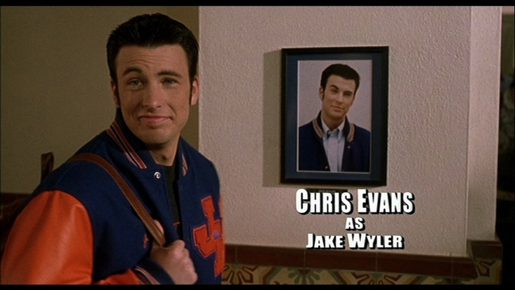 Chris Evans as Jake Wyler in Not Another Teen Movie
