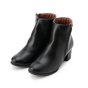 MACKINTOSH PHILOSOPHY WOMENS マッキントッシュ フィロソフィー ウイメンズ|シューズ|チャンキーヒールショートレインブーツ|トレンドのチャンキーヒールのショートレインブーツ。チャンキーヒールは安定感があるので長時間履き続けていても疲れにくいです。シンプルなデザインですので、ビジネスシーンでも使えて便利です。