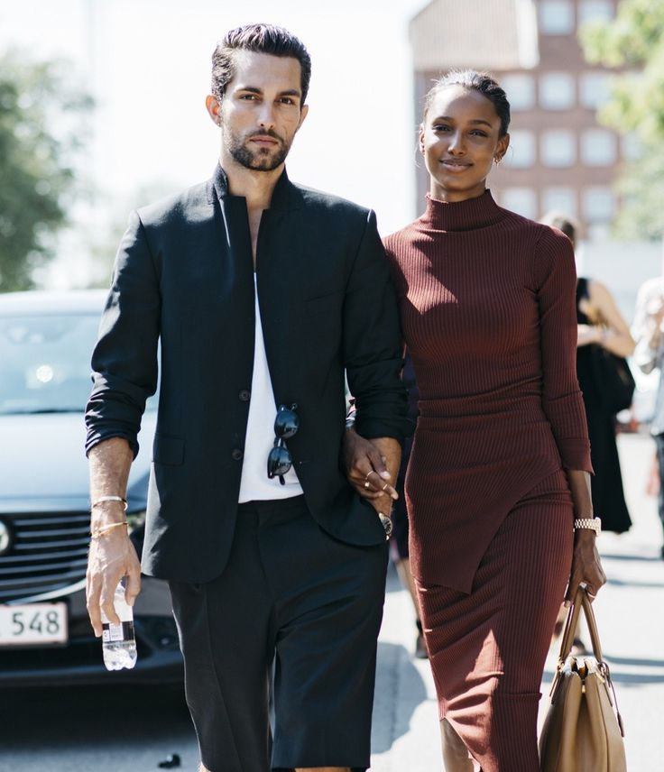 Stylish Couple #2 Follow MenStyle1 on: MenStyle1... | MenStyle1- Men's Style Blog