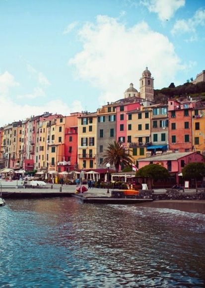 The small fishing village of Porto Venere is just a short boat ride away from the famous towns of the Cinque Terre and shares all of its beauty and charms—without the gawking tourists.