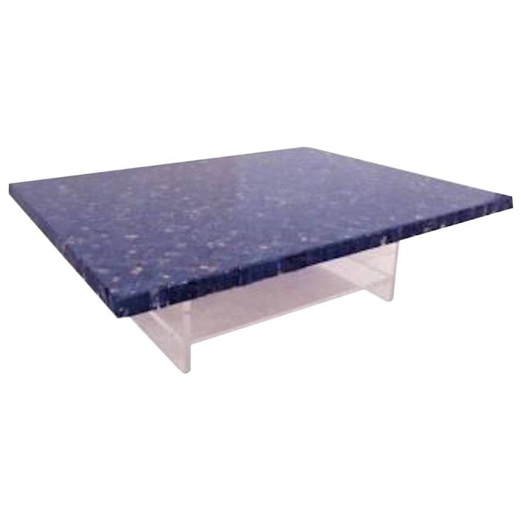 Perfect Blue Marble Table By JJ Hervy