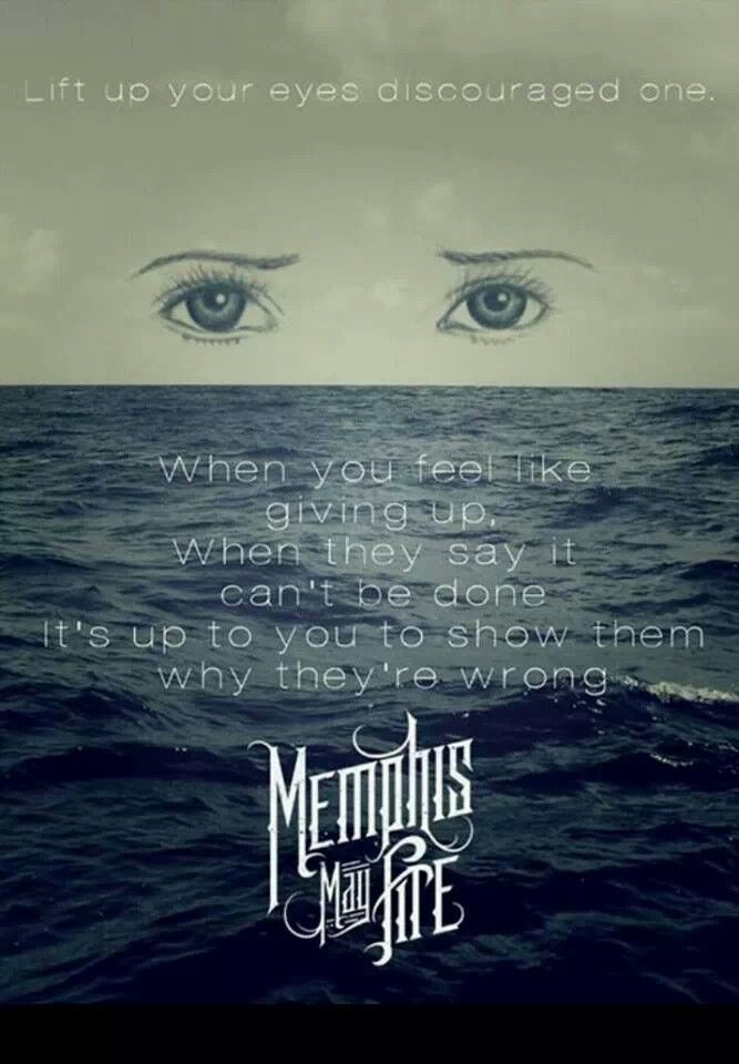 I love Memphis May Fire
