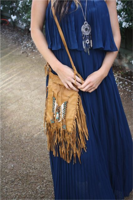 Handmade Bohemian Leather Bag
