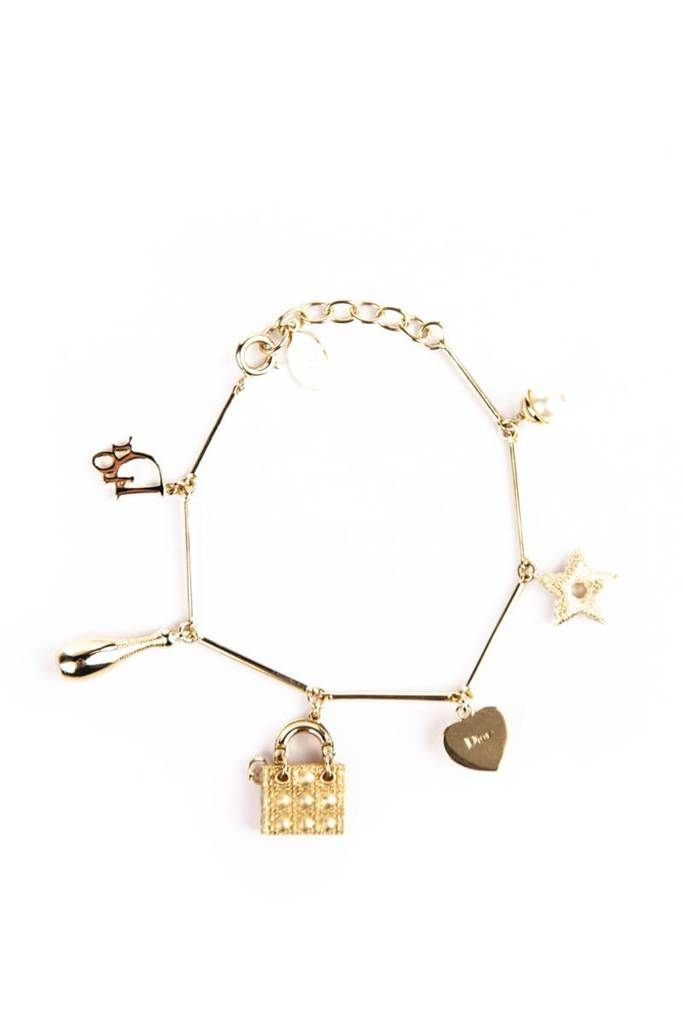 Christian Dior Lady Dior Charm Bracelet Own The Couture Canada S Luxury Designer Consignment Online Boutique Dior Lady Dior Dior Perfume