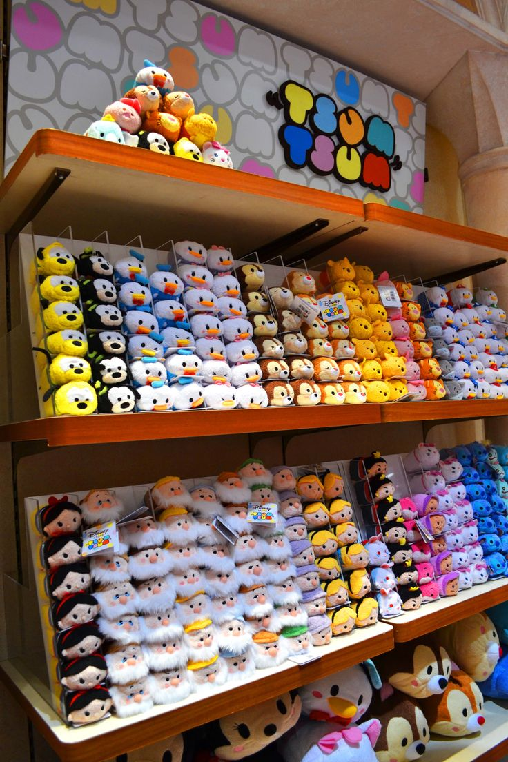 Super cute and soft Disney Tsum Tsum. They're just like bean bags. I WANT THEM ALLLLLLL!!!!!!!