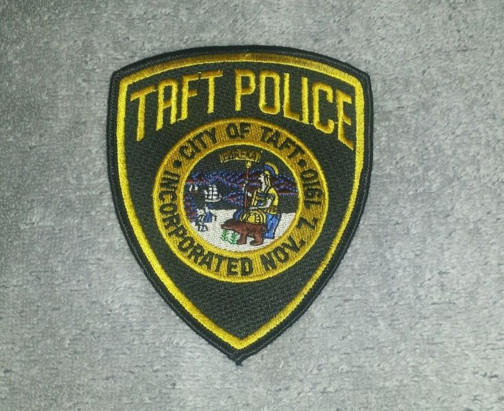 Taft California Police Shoulder Patch • $7.95 - PicClick
